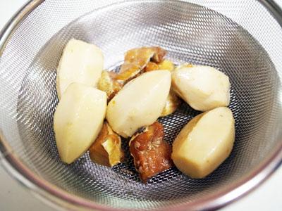 海老芋と鱈のうま煮