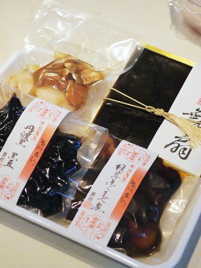 野村佃煮の商品4種