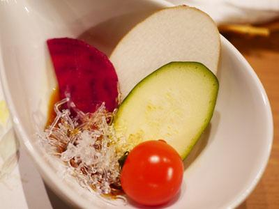 厳選野菜の素材サラダ