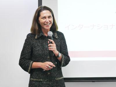 インターナショナルサイエンティフィックコミュニケーションドクターのマリエレン・レア氏