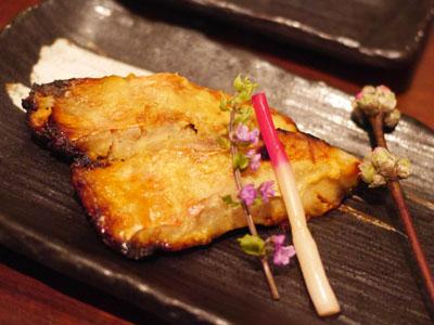 金目鯛の西京焼