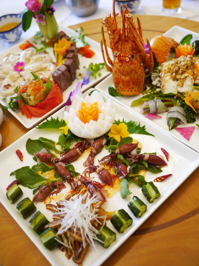 中華料理 大東洋で豪華中華薬膳