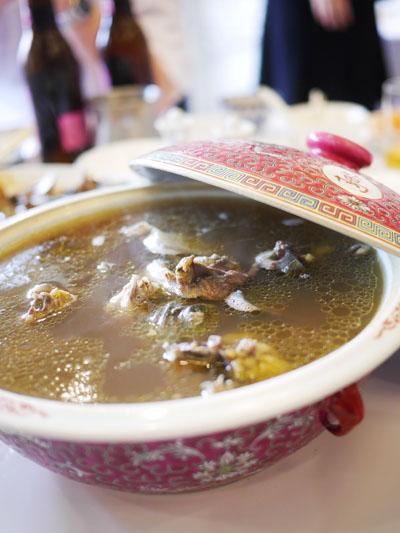すっぽん薬膳スープ