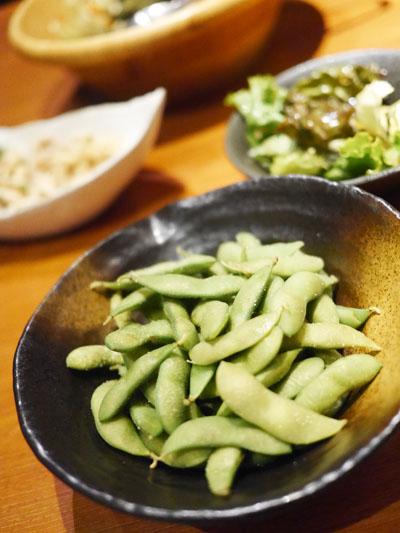 千葉県産塩茹で茶豆
