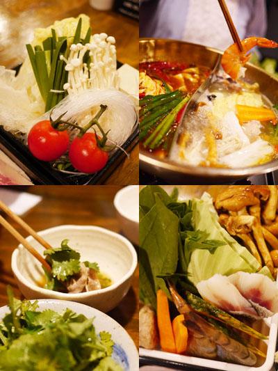 野菜や海鮮などなど