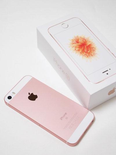 iPhone SE ローズゴールド