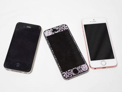 ワタシの歴代iPhone