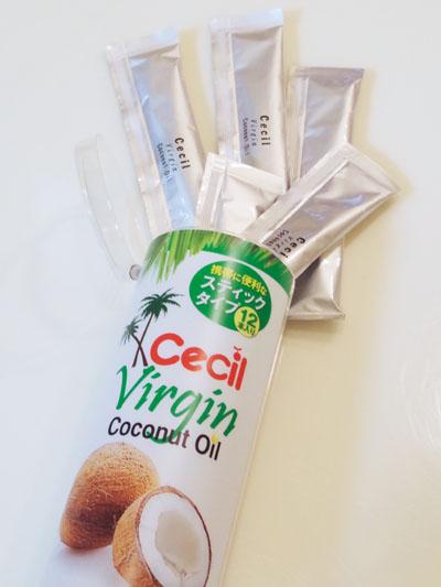 セシル・オーガニック・ココナッツオイル スティックタイプ