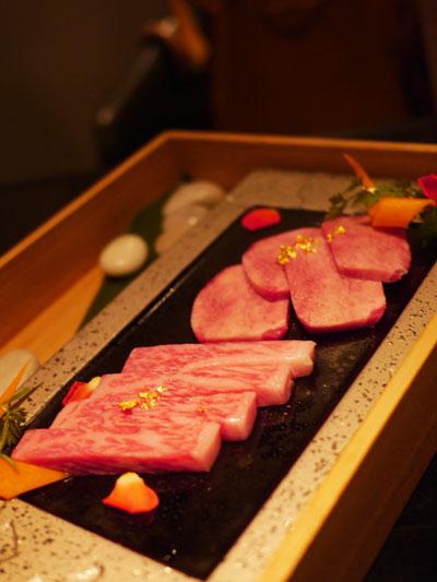 yamazon:国産タンとA5米沢牛サーロイン