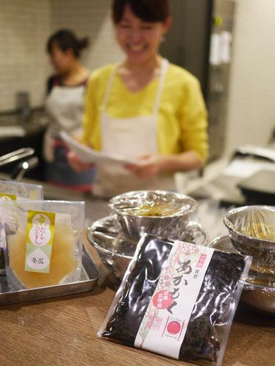 柚木さとみ先生の野村佃煮「あかもく」&「京だしひたし」活用レッスン