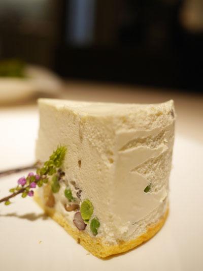 レアチーズケーキのようなサラダ