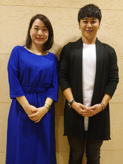 Atsushiさんと渡辺佳恵さん
