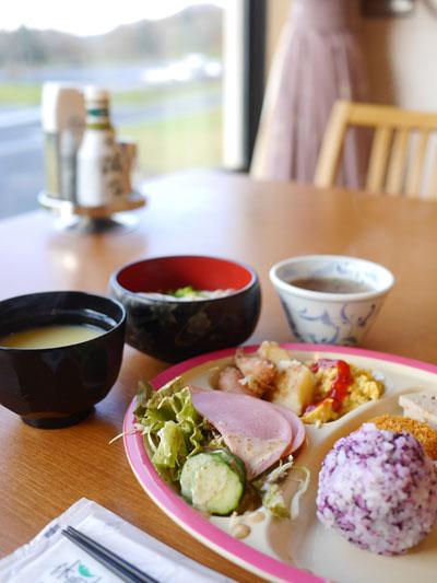 休暇村 奥大山の朝食
