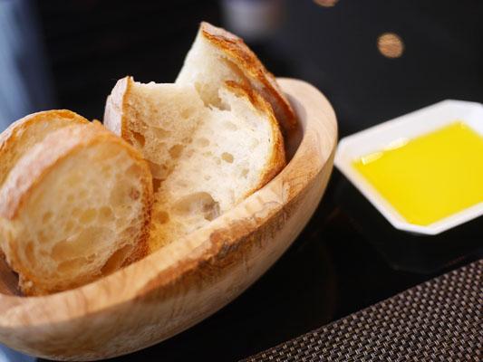フランスの有機小麦を使ったパン