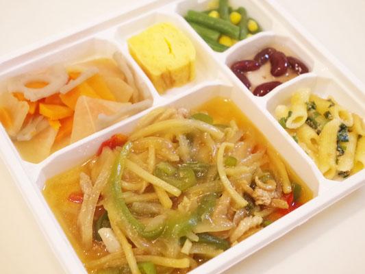 豚肉と筍の中華炒め風セット