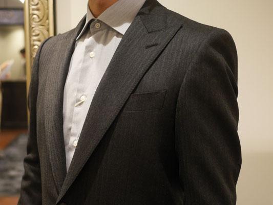 グローバルスタイル丸の内本店でオーダーしたスーツ