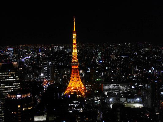虎ノ門ヒルズ51階からの眺め