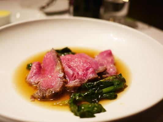 新宿スペイン料理 ガルロチ ローストビーフ