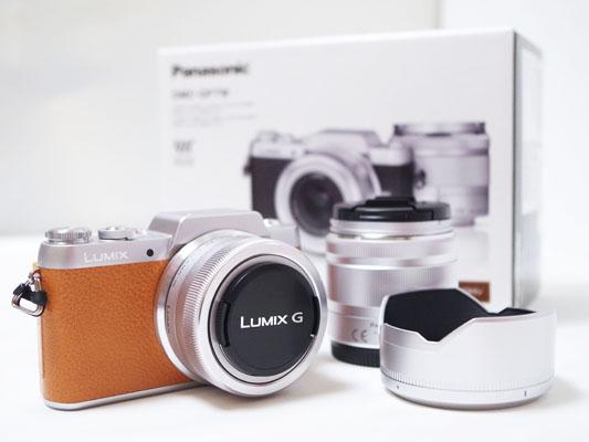 ミラーレス一眼 Panasonic「LUMIX GF7」