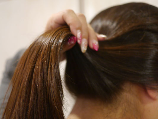 驚きの髪のまとまり ミネコラ