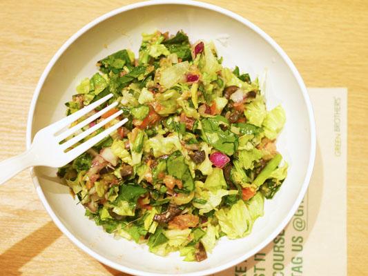 グリーンブラザーズ ブリの照焼きとセロリの洋風サラダ