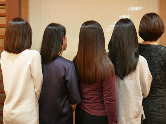 どんな髪型でも効果がわかるミネコラ