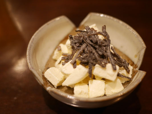 すぎのこ クリームチーズと塩昆布