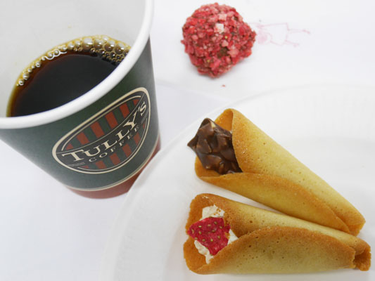 AUDREY(オードリー)のお菓子に合うタリーズのコーヒー
