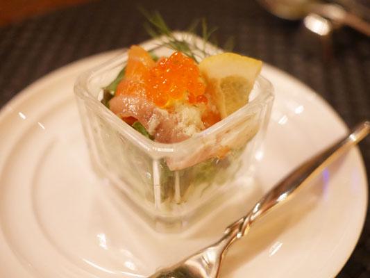 パセラリゾーツ グランデ 渋谷 低糖質コース 前菜