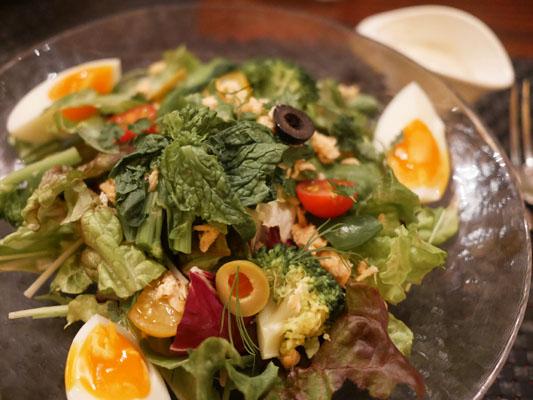 パセラリゾーツ グランデ 渋谷 低糖質コース サラダ