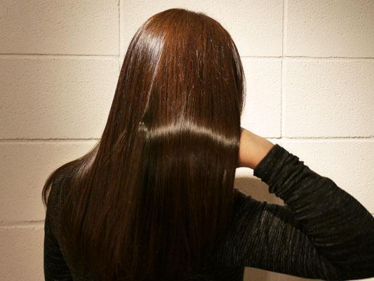 表参道 エス ヘアサロン ミネコラトリートメント 髪の変化