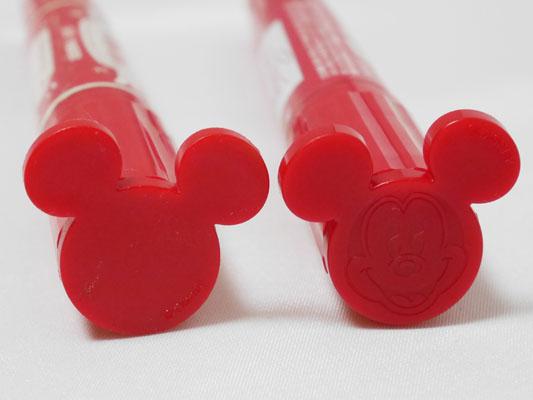 ディズニーシー限定「マッキーマウス」5周年と15周年の比較
