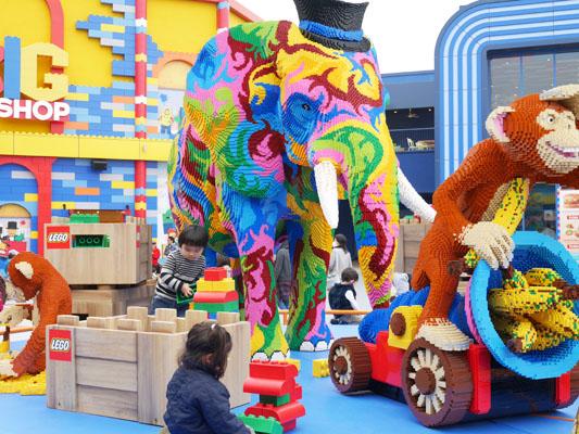 レゴランド ジャパン 名古屋 パーク内で子供が自由に遊べる