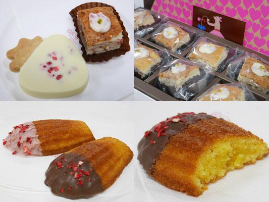 AUDREY(オードリー)のマドレーヌとクッキーとチーズケーキ