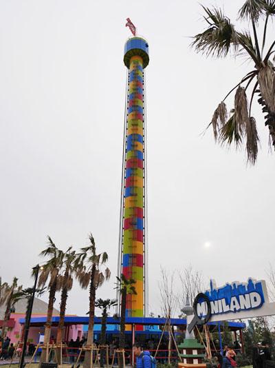 【レゴランド・ジャパン】人気アトラクション オブザベーション・タワー