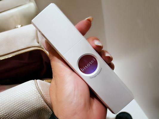 水素発生美顔器「bisosui(びそすい)」携帯水素美顔器 口コミ