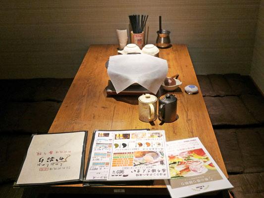 渋谷 しゃぶしゃぶ食べ放題「かおり」個室