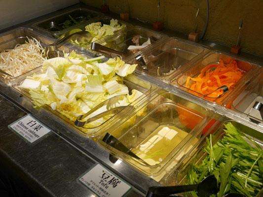 渋谷 しゃぶしゃぶ食べ放題「かおり」新鮮国産野菜バー