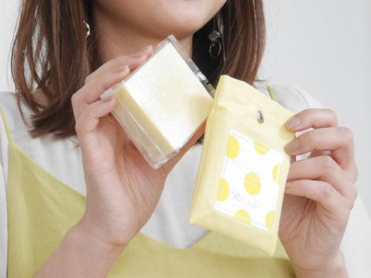 イキイキボタニクス2017年夏限定 洗顔石けん ミモザの香り