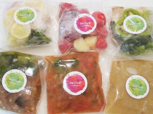 おいしく食べるファスティング delifas!(デリファス)ダイエット スムージー スープ 冷凍