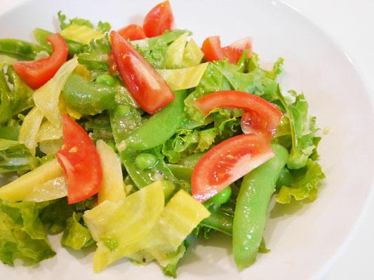 おいしく食べるファスティング delifas!(デリファス)ダイエット 余った野菜でサラダ