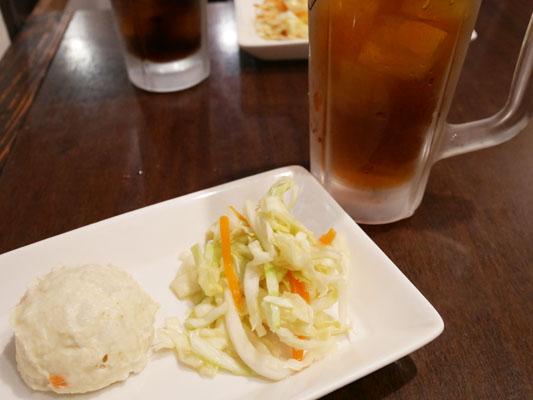 恵比寿 タイ料理 ランチ ラオラオ ランチのサラダ