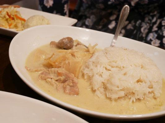 恵比寿 タイ料理 ランチ タイ屋台 ラオラオ グリーンカレー