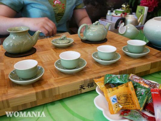 上海旅行 中国茶専門店 買い物 天福茗茶
