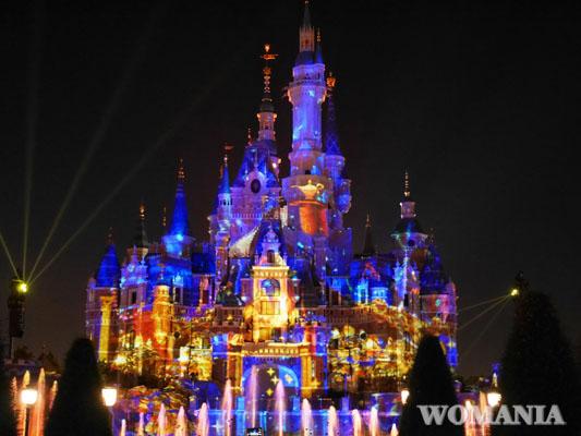 上海旅行 上海ディズニーランド ワンス・アポン・ア・タイム