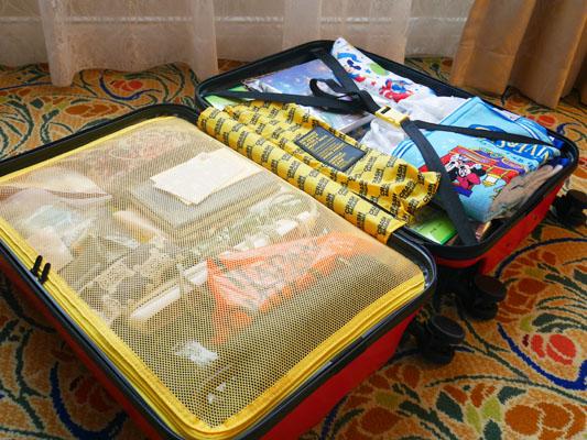 クラッシュバゲージ パッキングがラクなスーツケース