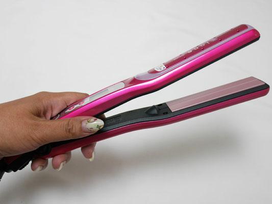 ミネコラパーフェクト3 キャンペーンのヘアアイロン 機種