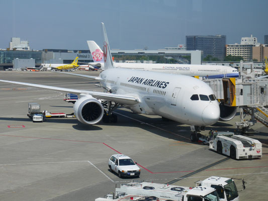 JAL 日本航空 成田 上海 口コミ レビュー
