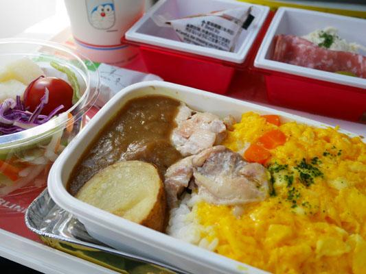 JAL 日本航空 成田中国便 機内食 メニュー 2017年5月