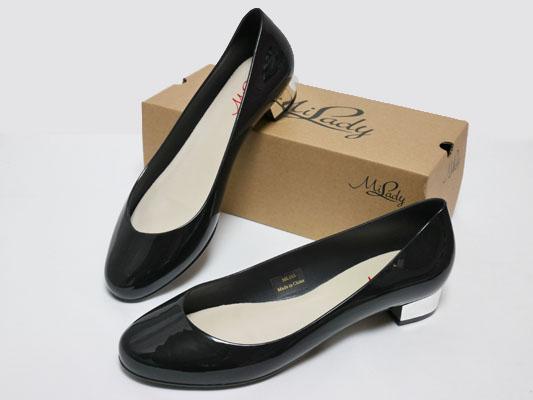 イマージュ 雨の日ファッション レインパンプス 雨靴